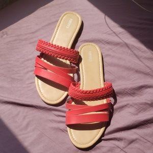 FWP! Forever 21 Dark Coral Sandals